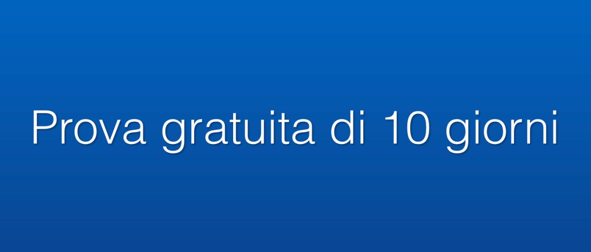 Prova gratuita di 10 giorni  (Strategie operative, Report di Borsa, guida aimercati)