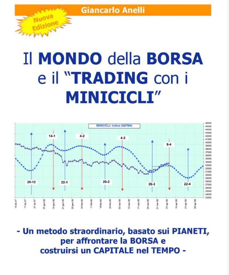 """Scarica gratis l'ebook completo del mio primo libro: """"il mondo della Borsa e il Trading con i Minicicli"""""""